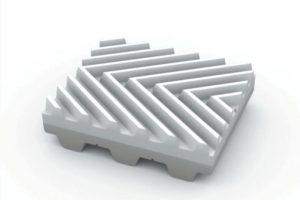 Herringbone Fishbone PU Timing Belts